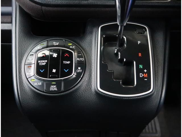 【デュアルエアコン】運転席と助手席でそれぞれ独立で温度設定が出来る優れもの!!フルオートエアコンなので快適です♪