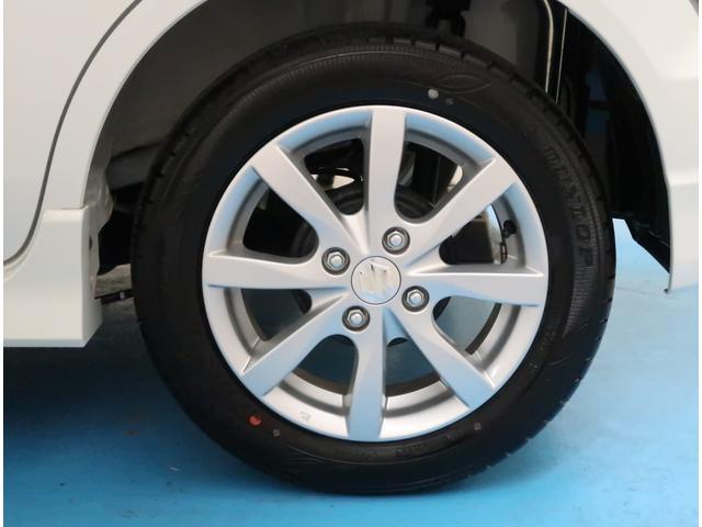 【純正14インチアルミ】タイヤの残り溝もしっかり残っております。ご納車前に点検・空気圧調整もさせて頂きますので、ご安心下さい。