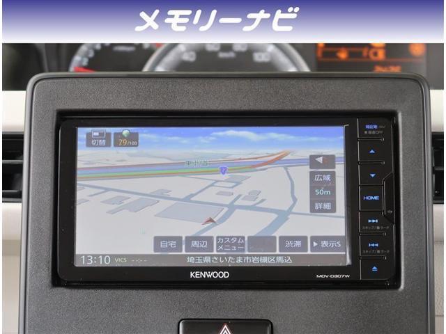ハイブリッドFX サポカー 社外ナビ ワンセグTV スマートキー オートエアコン シートヒーター(3枚目)
