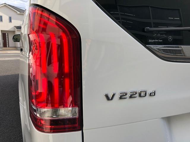 V220d アバンギャルド ロング AMGライン ワンオーナー 前後ドラレコ 後席モニター AMGライン 車検R5年9月 ブルメスター パノラミックスライディングルーフ ロッククリスタルホワイト 本革シート フルフラットベンチシート(14枚目)