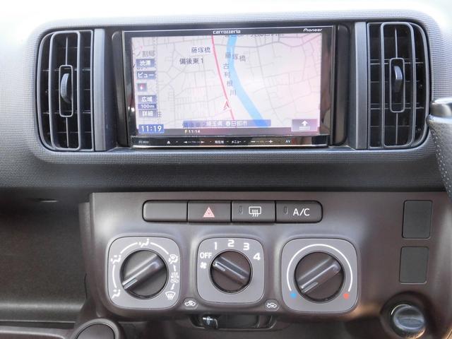トヨタ パッソ X 社外メモリーナビ ワンセグ ID車両