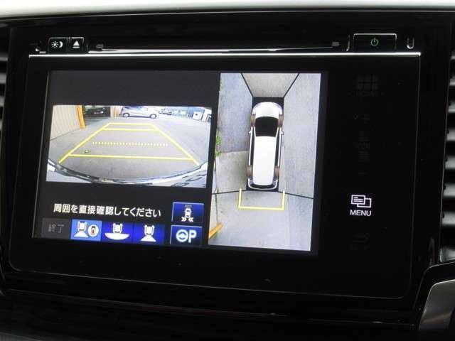 ハイブリッドアブソルート・ホンダセンシングEXパック 純正メモリーナビ Bluetooth ETC Rカメラ(5枚目)