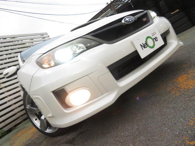 WRX STI Aライン 外ナビ地デジPシートヒーターキセノン(39枚目)