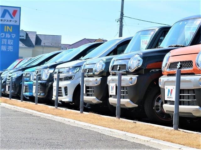 軽自動車をはじめコンパクトカー、SUV、ミニバンなど豊富な車種を常時70台以上展示しております!!