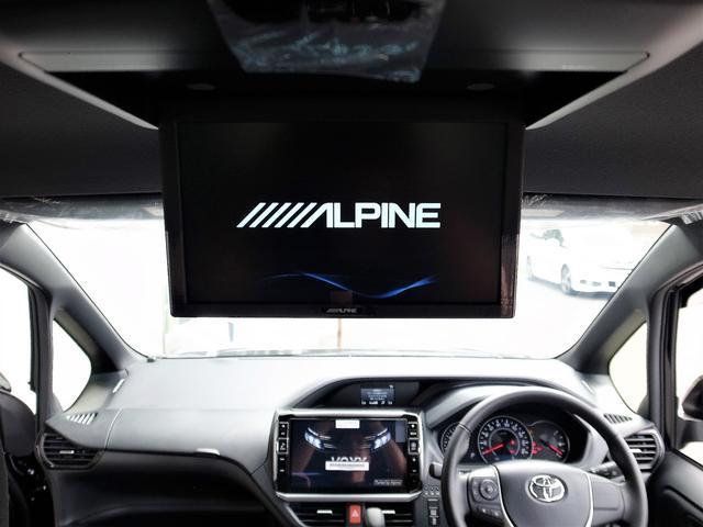 Aプランにて、アルパイン 10型HDMI専用フリップダウンモニタが選択可能です。前席/後席を別々に楽しめるダブルゾーン機能つき。お得な価格プランとなっております。