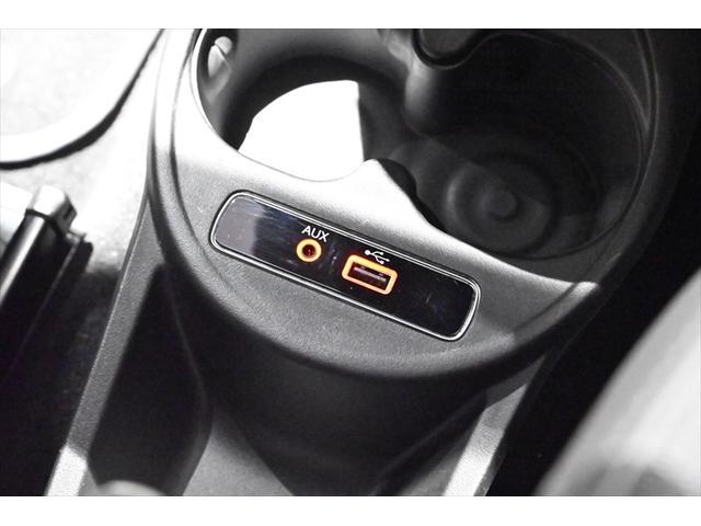 AUX・USB端子!