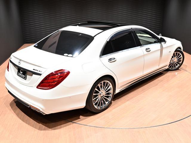S600ロング S600ロング(5名)S65仕様 20インチ AMGブレーキ ショーファーPKG  HUD サンルーフ BSM レーンキープ ブルメスター(6枚目)
