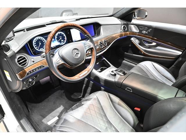 S600ロング S600ロング(5名)S65仕様 20インチ AMGブレーキ ショーファーPKG  HUD サンルーフ BSM レーンキープ ブルメスター(13枚目)
