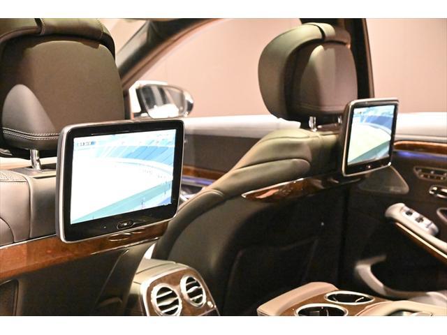 S600ロング S600ロング(5名)S65仕様 20インチ AMGブレーキ ショーファーPKG  HUD サンルーフ BSM レーンキープ ブルメスター(14枚目)