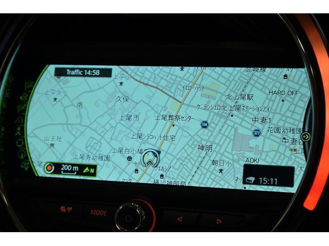 クーパーD ユーザー買取車・ナビゲーションPKG・アイドリングストップ・バックカメラ・ドラレコ・HUD・純正17インチ(9枚目)