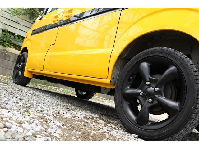 PA ブギーライダー GMCスクールバス仕様 マットブラック15インチAW 内装カラーリメイク オリジナルシートカバー FAKERステアリング CarrozerriaメモリーナビDTVBluethooth(11枚目)