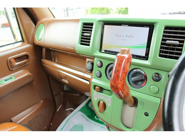 PA ブギーライダー GMCスクールバス仕様 マットブラック15インチAW 内装カラーリメイク オリジナルシートカバー FAKERステアリング CarrozerriaメモリーナビDTVBluethooth(14枚目)