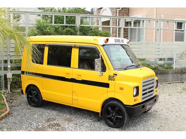 PA ブギーライダー GMCスクールバス仕様 マットブラック15インチAW 内装カラーリメイク オリジナルシートカバー FAKERステアリング CarrozerriaメモリーナビDTVBluethooth(60枚目)