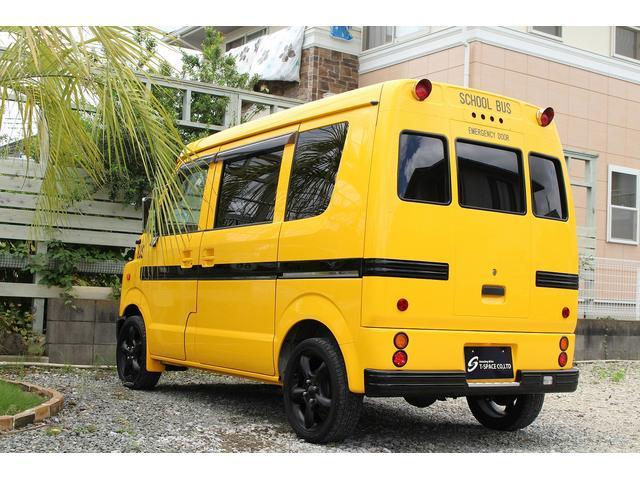 PA ブギーライダー GMCスクールバス仕様 マットブラック15インチAW 内装カラーリメイク オリジナルシートカバー FAKERステアリング CarrozerriaメモリーナビDTVBluethooth(67枚目)