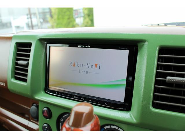 PA ブギーライダー GMCスクールバス仕様 マットブラック15インチAW 内装カラーリメイク オリジナルシートカバー FAKERステアリング CarrozerriaメモリーナビDTVBluethooth(71枚目)