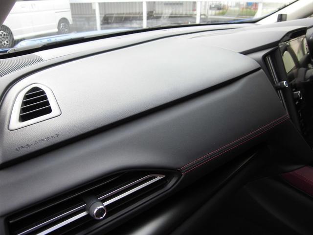 STIスポーツ EX STiエアロ STiパフォ-マンスマフラー スマートリヤビューミラー 12.3インチフル液晶メーター アイサイトX ドラレコ ETC CD/DVDデッキ 禁煙車(7枚目)