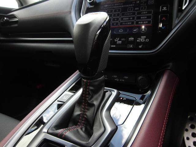 STIスポーツ EX STiエアロ STiパフォ-マンスマフラー スマートリヤビューミラー 12.3インチフル液晶メーター アイサイトX ドラレコ ETC CD/DVDデッキ 禁煙車(24枚目)