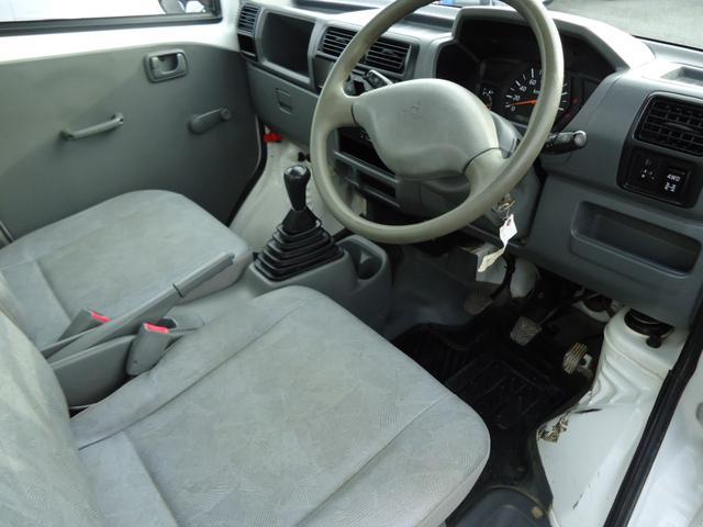 三菱 ミニキャブトラック Vタイプ エアコン パワステ 4WD 5MT 3方開き