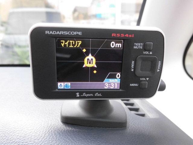 ユピテル製GPS&レーダー探知機も装備されており、安心です!