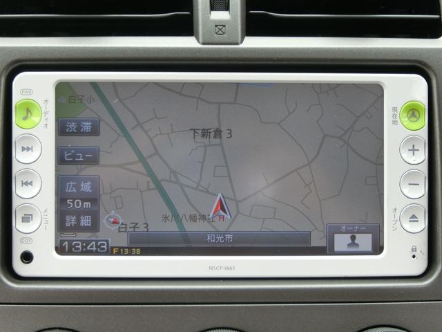 トヨタ ラクティス X 純正ナビ 地デジTV ETC リモコンキー 禁煙車