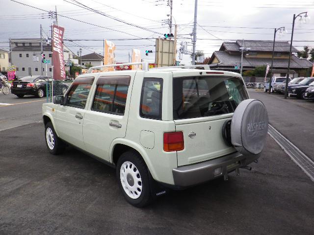 「日産」「ラシーン」「SUV・クロカン」「東京都」の中古車10