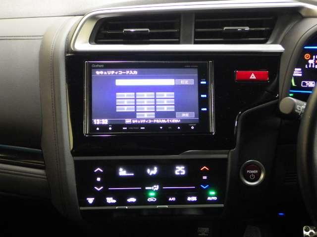 ホンダ フィットハイブリッド Sパッケージ ギャザズMナビ 4WD ETC