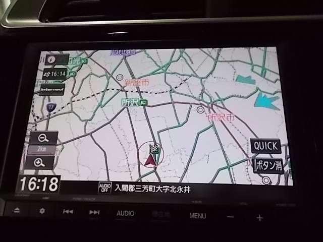 L ホンダセンシング 純正用品ナビ 前後ドラレコ(4枚目)