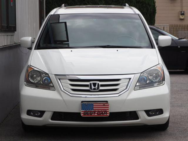 アメリカホンダ オデッセイ EX-L 地デジナビ リアM SR 1オーナー自社新車販売