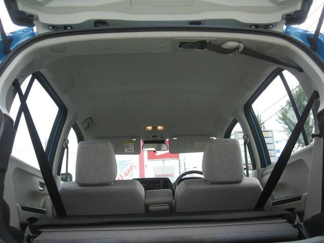 127cmの室内高は圧迫感のない空間で運転手を疲れさせません