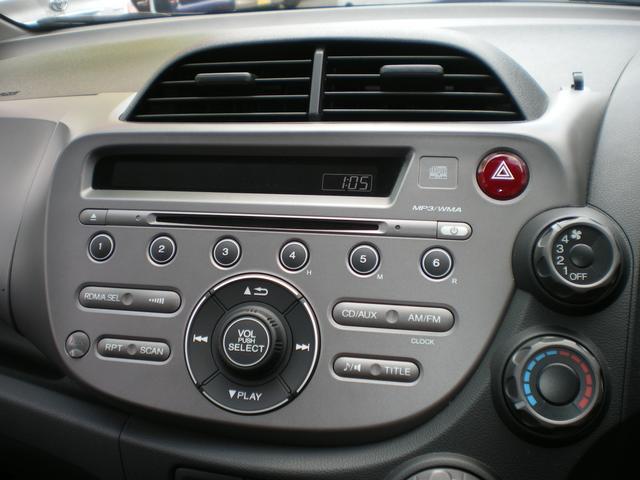 ホンダ フィット G Fパッケージ 新品ポータブルナビ CDチューナー ETC