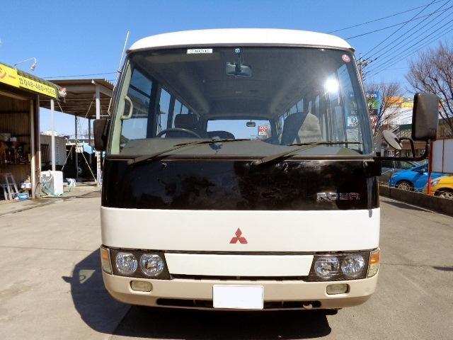 三菱ふそう ローザ CX 26人乗り 自動ドア 5F ディーゼル マイクロバス