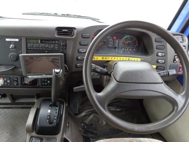 ロングCX-Lターボ 28人乗り 左オートドア ディーゼルターボ オートマ バックモニター NOx・PM適合(11枚目)