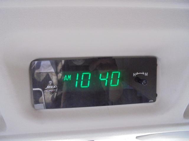 ロングカスタムターボ 26人乗り 左オートドア 冷蔵庫 バックモニター ディーゼルターボ 換気扇 エアサス 6MT NOx・PM適合 リクライニング・モケットシート(27枚目)