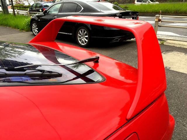 日産 フェアレディZ ツインターボ2by2 Tバーマニュアル フロントエアロ 黒革