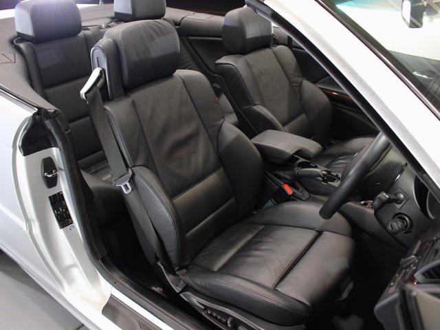 BMW BMW 330Ciカブリオーレ 社外ナビETCキセノン黒革シートH