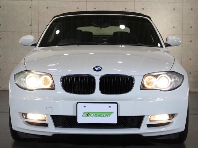 BMW BMW 120i カブリオレ 黒レザーHDDナビフルセグETCHID