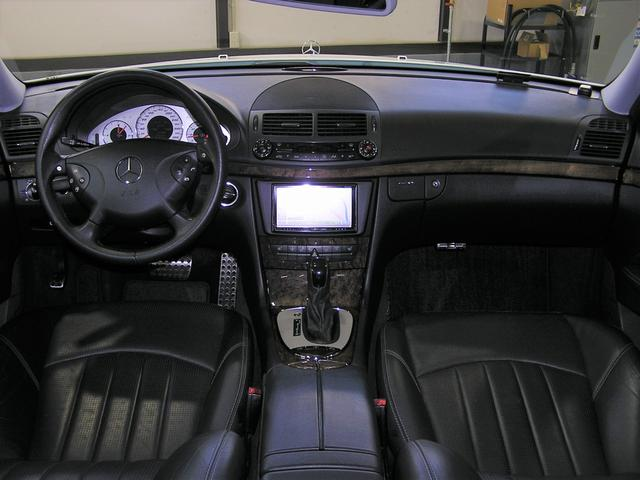 メルセデス・ベンツ M・ベンツ E55 AMG 自社保証付左HサンルーフSDナビBカメETC