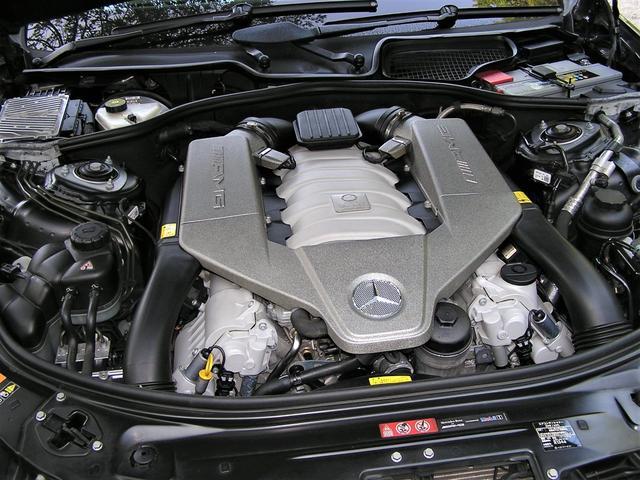 メルセデス・ベンツ M・ベンツ S63 AMGロング後期 右H SR 黒革  ナイトビジョン