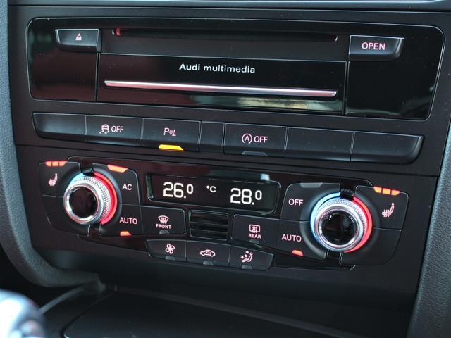 2.0TFSIクワトロ 赤革シート シートヒーター R19AW 禁煙車 リアスモーク バックカメラ 障害物センサー 純正MMIナビ ETC CD DVD SD Bluetooth TV(16枚目)
