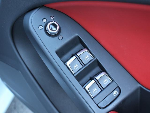 2.0TFSIクワトロ 赤革シート シートヒーター R19AW 禁煙車 リアスモーク バックカメラ 障害物センサー 純正MMIナビ ETC CD DVD SD Bluetooth TV(25枚目)