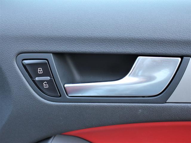 2.0TFSIクワトロ 赤革シート シートヒーター R19AW 禁煙車 リアスモーク バックカメラ 障害物センサー 純正MMIナビ ETC CD DVD SD Bluetooth TV(26枚目)