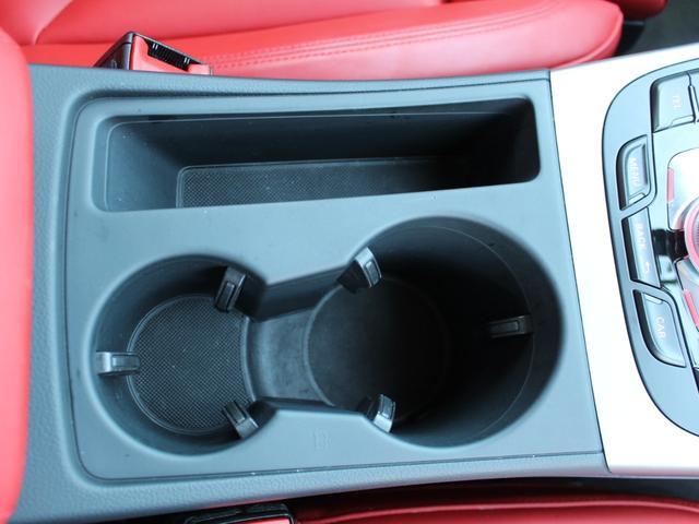 2.0TFSIクワトロ 赤革シート シートヒーター R19AW 禁煙車 リアスモーク バックカメラ 障害物センサー 純正MMIナビ ETC CD DVD SD Bluetooth TV(39枚目)