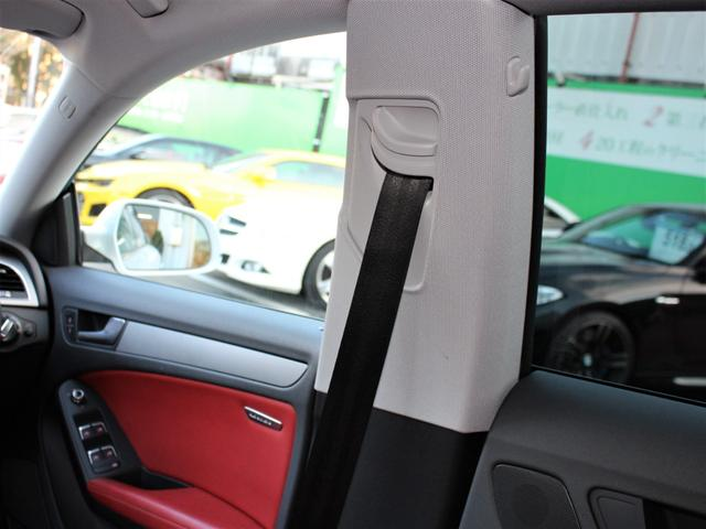 2.0TFSIクワトロ 赤革シート シートヒーター R19AW 禁煙車 リアスモーク バックカメラ 障害物センサー 純正MMIナビ ETC CD DVD SD Bluetooth TV(44枚目)