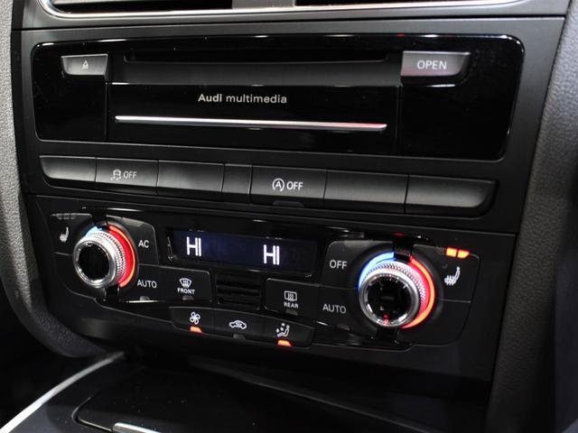 2.0TFSIクワトロ Sラインパッケージ Sラインパッケージ 後期 1オーナー サンルーフ 黒革 シートヒーター 純正ナビ Bluetooth 地デジ ドライブレコーダー パドルシフト 純正18AW アイドリングストップ ETC 外部入力(17枚目)