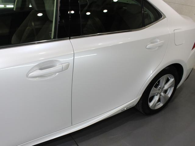 IS300h 後期・純正ナビBカメラフルセグ・LEDライト・プリクラッシュ・シートヒーター・レーダークルーズコントロール・車線逸脱(LDA)・パドルシフト・コーナーセンサー・ETC・ハーフレザー・USB・AUX(33枚目)