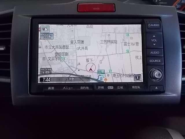 HDDナビ装備 不慣れな道やロングドライブも安心です!