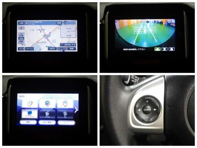 Bluetoothオーディオ・I-POD・1セグTV対応ナビ!バックカメラ装備