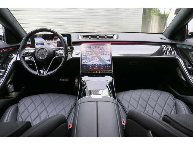 S500 4マチックロング AMGライン 新型Sクラス ファーストエディション 特別仕様車(全国限定540台) 左ハンドル 純正21インチアルミ リアコンフォートP ワンオーナー 禁煙車 認定中古車(5枚目)