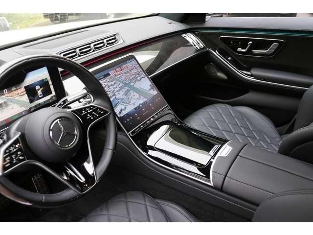 S500 4マチックロング AMGライン 新型Sクラス ファーストエディション 特別仕様車(全国限定540台) 左ハンドル 純正21インチアルミ リアコンフォートP ワンオーナー 禁煙車 認定中古車(19枚目)