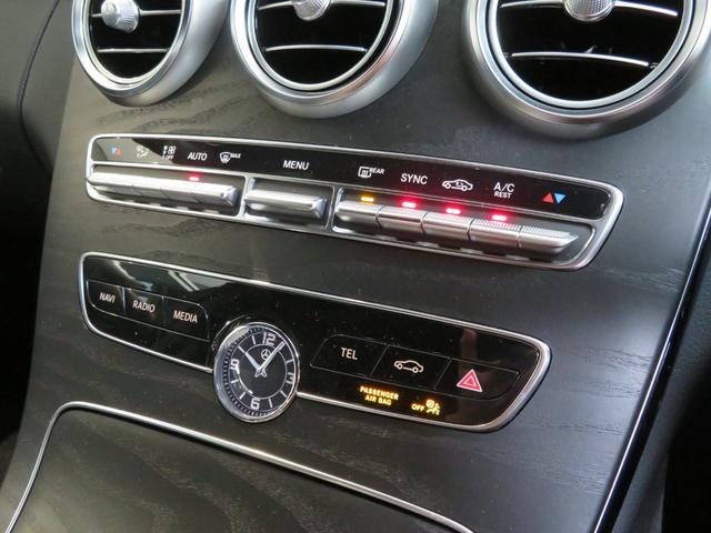 C200 4マチックアバンギャルド AMGライン デモカー(17枚目)